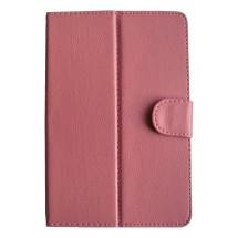 """CASEAN Pouzdro na tablet 9.7"""", se stojánkem, koženkové, růžové"""