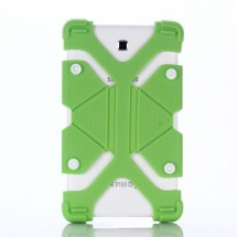 """FLEXI Univerzální silikonový kryt na tablet 7"""" - 8"""", zelený"""