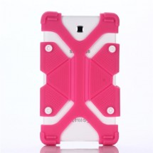 """FLEXI Univerzální silikonový kryt na tablet 7"""" - 8"""",  růžový"""