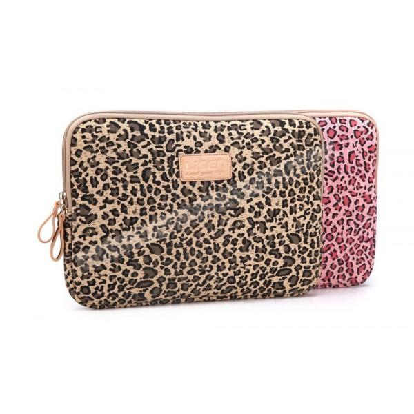 381785640ae Pouzdro na notebook s leopardím vzorem 12