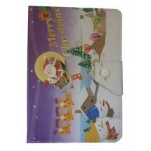 """PIC2 Pouzdro na tablet 7"""" univerzální, Christmas"""