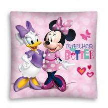 Povlak na polštářek Minnie a Daisy micro 40x40 cm