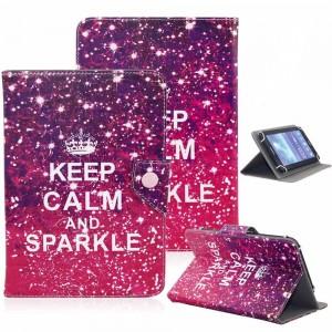 """PIC11 Pouzdro na tablet 10""""-10,1"""", univerzální, Keep calm and sparkle"""